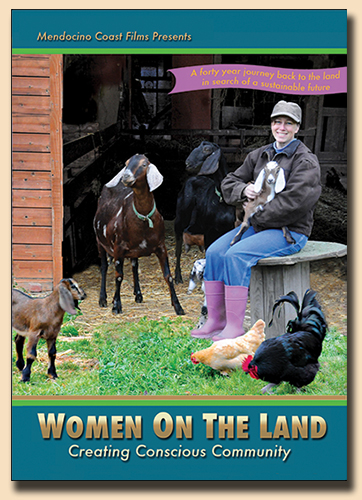 DVD cover for Women on the Land: Creating Conscious Community